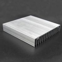 100x100x18mm Aluminium Heat Diffuse Heat Sink Cooling Fin For CPU IC