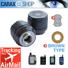Spare sensor TPMS CAR AUTO tire pressure monitoring system 1 FL Front Left brown