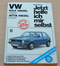 VW Volkswagen Golf Jetta Diesel Turbodiesel 1984 Reparaturanleitung JHIMS 131
