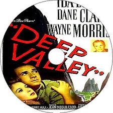 Deep Valley _ Ida Lupino Dane Clark V rare 1947