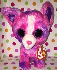 """6"""" Ty Beanie Boo Dakota the Dog Justice Exclusive"""