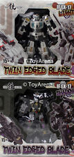 Iron Factory IF-EX17 IF-EX17L Norimune IF-EX17S Muramasa 2-Pack Twin Edge Blade
