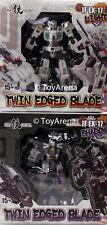 Iron Factory IF-EX17 IF-EX17L Norimune IF-EX17S Muramasa 2-Pack Twin Edge Blade