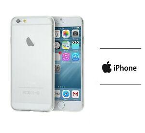 Cover custodia silicone sottile trasparente per APPLE IPHONE 6S morbida TPU GEL