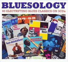 BLUESOLOGY - 60 ELECTRIFYING BLUES CLASSICS (NEW SEALED 3CD)
