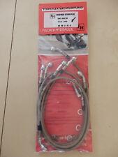 CBR 1000 RR SC57 ab´06- STAHLFLEX vorne & hinten & Kupglung ABE brake hose
