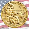 2018 P & D Sacagawea Native American - Jim Thorpe $1 2 Coin Set (Uncirculated)
