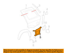 GMC GM OEM 02-09 Envoy Quarter Panel-Lower Filler Left 15201659