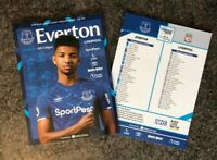 Everton v Liverpool DERBY LIMITED PROGRAMME 21/6/20!READY TO DISPATCH!!!