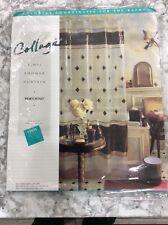 "Brand New Springs Home ""PORTOFINO"" 100% Vinyl Burgandy  Shower Curt"