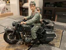 Schuco BMW Motorcycle Sidecar WW1 German Military Toy Car 1:10