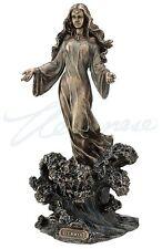 Yemaya Goddess of The Ocean Statue Sculpture Bronze Figurine - WE SHIP WORLDWIDE