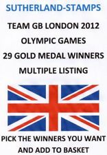 Olympics Decimal Great Britain Commemorative Stamps