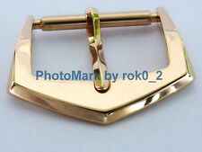 GENUINE PATEK PHILIPPE 18K SOLID YELLOW GOLD 18ct 16mm TANG PIN BUCKLE CLASP NEW