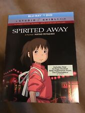 Spirited Away (Blu-ray/Dvd, 2-Disc Set, 2017) New with Slip Cover