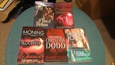 Lot of 5 Paranormal Romance Paperback Books