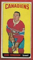 1964-65 TOPPS #4**JOHN FERGUSON**EX+*TALL BOYS*(MONTREAL CANADIENS)