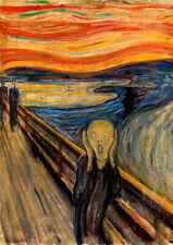 The Scream, Edvard Munch wall art poster print A6 A5 A4 A3 home decor GREAT GIFT