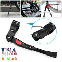 """Aluminium Alloy Adjustable MTB Bike Bicycle Kickstand Side Fit for 20"""" 24"""" 26"""""""