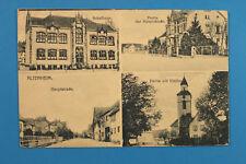 Alsace Bas-Rhin Elsass 67 AK CPA Altenheim 1920s Ecole Rues Costumes maisons +++