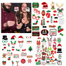 Christmas Selfie Photo Booth Party Props Mustache Beard Xmas Photography