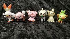 Pokemon WCT Figures Lot Scorbunny Grookey Stufful Mimikyu Pancham Snubbull