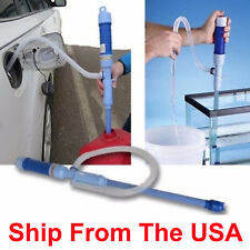 63cm Liquid Transfer Siphon Pump Gas Oil Water Fish Tank Battery Power Aquarium