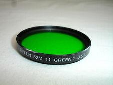 Tiffen 52mm 11 GREEN 1 filter