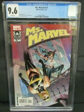 Ms. Marvel #11 (2007) Travel Foreman Cover Arana CGC 9.6 X904