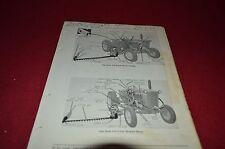 John Deere 310-H 310-M Mower Dealer's Parts Book Manual DCPA3