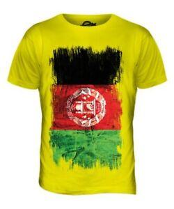 Afghanistan Flagge T-Shirt Herren Afghanistan Fußball Afghan Shirt