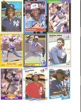 18 CARD PASCUAL PEREZ BASEBALL CARD LOT             40-41