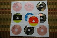 10 CD+G DISCS KARAOKE OLDIES HITS CDG - JOURNEY,DION,BEATLES,BEACH BOYS 30h