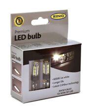 Ring Premium LED Bulbs 12v W5W 501 Ice White 6000k CANbus Error Free RW501CBLED
