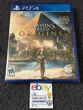 Assassin's Creed: Origins PlayStation 4 PS4 Brand New Factory Sealed