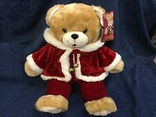 "Dan Dee Animated Teddy Bear Reads The Night Before Christmas 25"" Tall 2003"