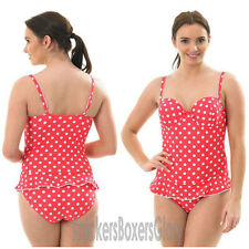 Spot Print Padded Swimsuit/Swimming Costume Size 10, 12, 14, 16 NEW