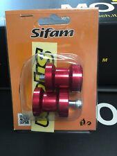supporto cavalletto Moto ERGAL Sifam VITE M6 Rosso Yamaha/Triumph/Ducati/Aprilia