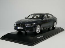 1/18 Scale BMW 7 Series 750 Li 2017 Grey Diecast Car Model