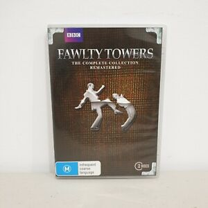 FAWLTY TOWERS The Complete Collection Remastered DVD, Region 4, Free Postage