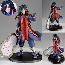 Collections Anime Figure Toy Naruto Uchiha Madara Figurine Statues 17cm