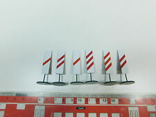 AY604-0, 5 #2x Ets o Gauge 975 Set Blech-Warnbake/Traffic Signs, Mint
