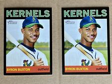 (2) 2013 Topps Heritage Black SP RC ROOKIE #100 /96 Twins Kernels