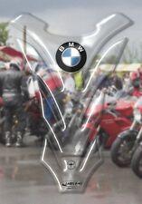 Portector de Depósito adhesivo 3D transparente protector resina para moto BMW