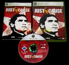 JUST CAUSE 1 XBOX 360 Versione Ufficiale Italiana 1ª Edizione ••••• COMPLETO
