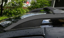 Barres de toit longitudinales Mitsubishi ASX 2010> alu noir, pieds noir EN STOCK