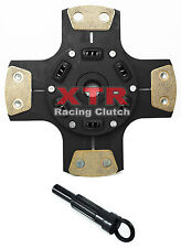 XTR 4-PUCK CERAMIC STAGE 3 CLUTCH RACE DISC PLATE & TOOL for 90-05 CIVIC DEL SOL
