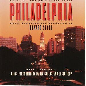HOWARD SHORE Philadelphia original score NM 1994 Epic USA EK-57823 Lighthouse