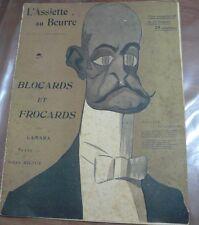 BROCARDS ET FROCARDS CAMARA L' assiette au Beurre n° 136, revue satirique 1903