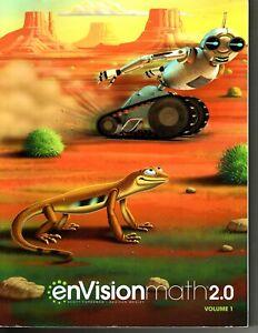 Envison Math 2.0 - 4th Grade - Activity Book Textbook - Homeschool / Online